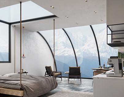 Far Away From Everyone: Hotel Room by Selami Bektaş