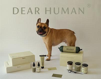 Dear Human : A Pet Wellness Brand