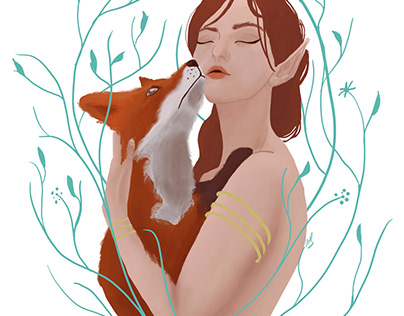 Fox & Girl