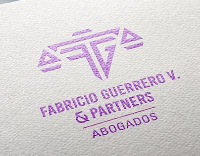 Diseño de marca. Isologo Fabricio Guerrero