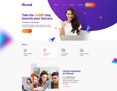 Online Course Provider | Web Design