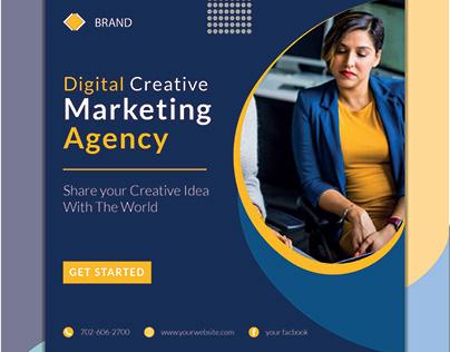 Social media ads banner design