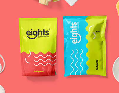 Branding for healthy food cafe products