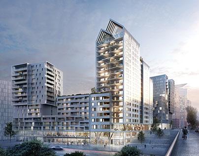Tower in Paris Studio Bellecour