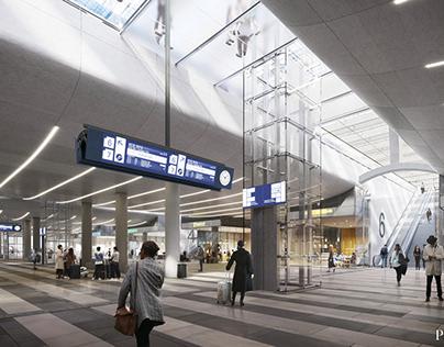 New Brno Main Station | WEST 8 and Benthem Crouwel