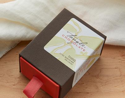 Tangle Chocolate Branding