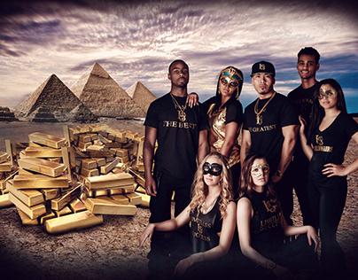 Egypt guys photo manipulation