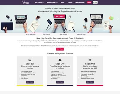 itas - Brand New Web Design & Development