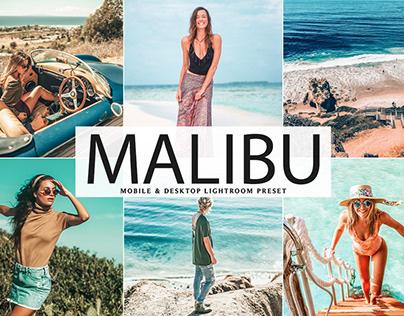 Free Malibu Mobile & Desktop Lightroom Preset
