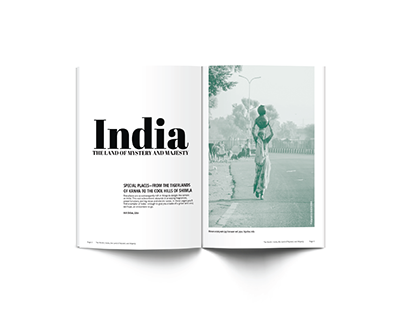 India Magazine Article