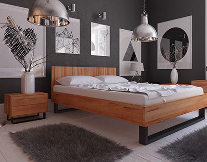 Sypialnia / Bedroom - Steel Collection