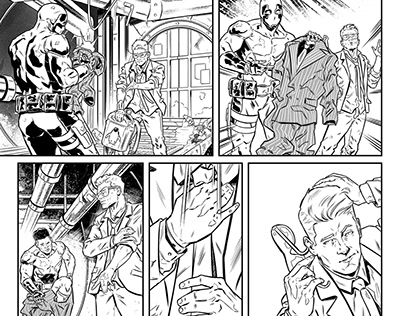 Quantum and Woody #1 (Sequential Art Samples) 2020