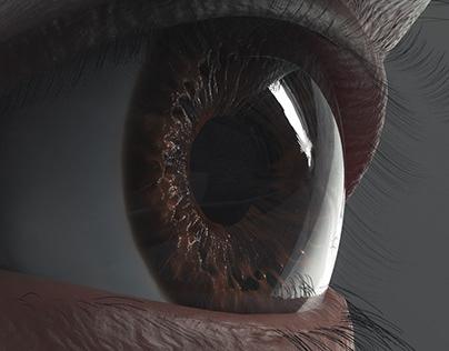 realstic Eye 3D design
