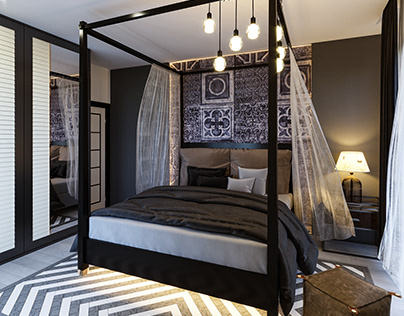 Bedroom Project (İnterior Design)