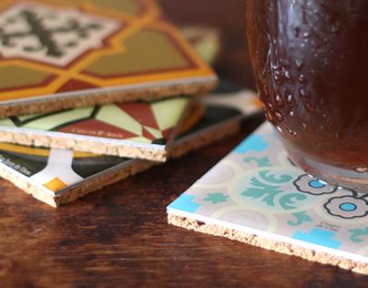 PisoVaso - Coaster Tiles