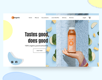 Organic Juice Online Store