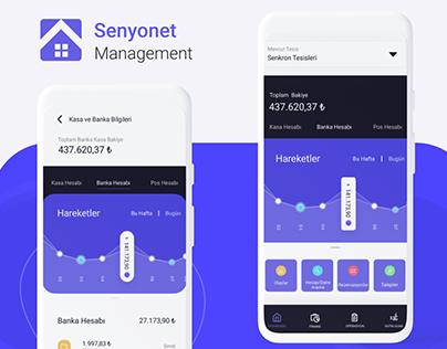 Senyonet Management App -FMS