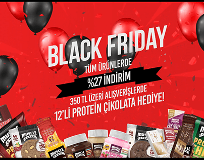 Muscle Cheff Black Friday