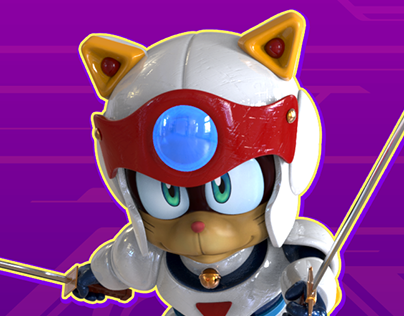 Speedy from Samurai Pizza Cats