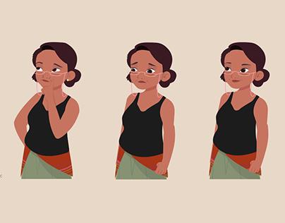 Diseño de Personajes para video animado