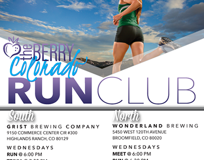 Run Club Event Promo