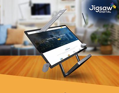 Digital Agency - Web Layout Design