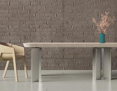 PILEA extending table