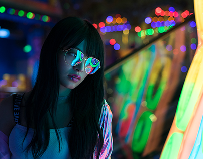 NEON x SING GIRL