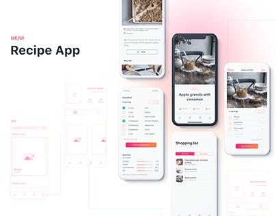 Recipe App IOS