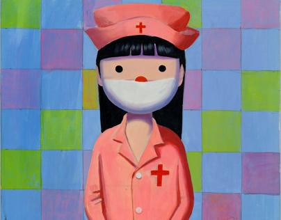 Sun lisha,nurse of a beautiful life