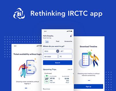 Rethinking IRCTC mobile app