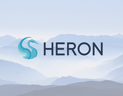Heron Brand Identity and Website