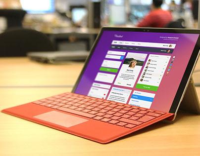 4K Microsoft Surface Pro PSD mockup