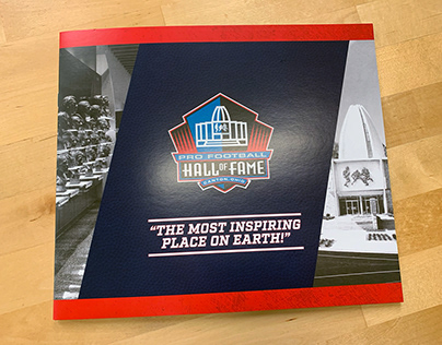 Pro Football Hall of Fame Photobook