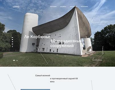 Le Corbusier Architecture Article Concept