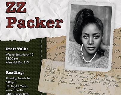Poster Series for LSU Visiting Writer program