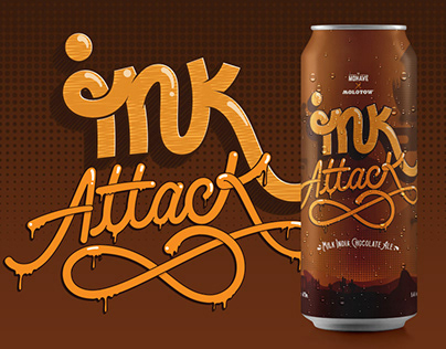 INK Attack   Mohave X Molotow