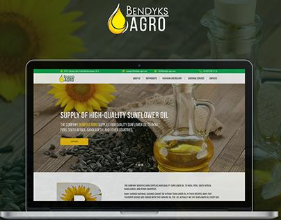 BENDYKS AGRO Web design
