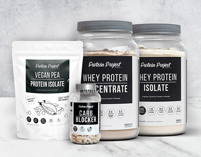 Protein Project - Branding y packaging