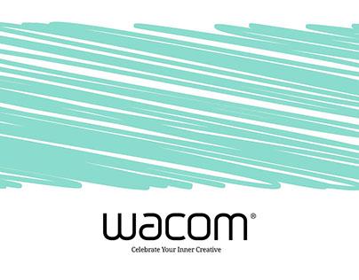 Wacom Celebrate Your Inner Creative Campaign