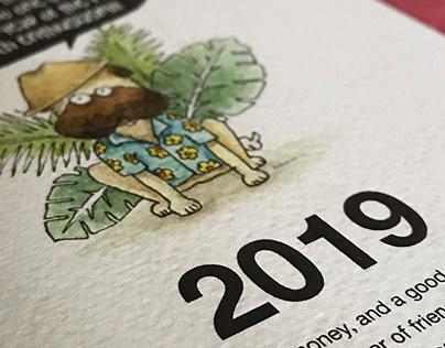 Puglee Calendar 2019 (print)