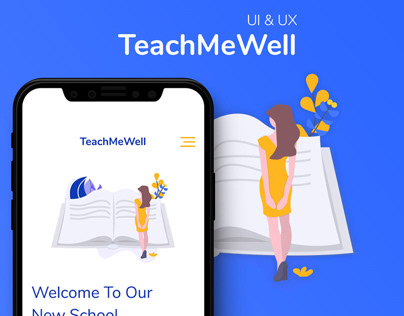 TeachMeWell Landing page