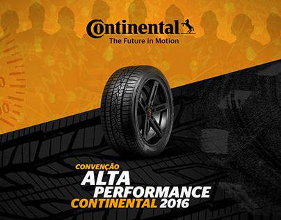 Continental Tires - Convenção Alta Performance 2016