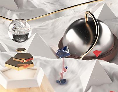 Motionblur 3D Facebook Cover Shots