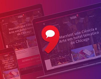 Disque 9 - Content website redesign