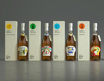 Xixia® Osmanthus Wine 「Autumn Chill 」夕下® 牌桂花酒 惬意好秋