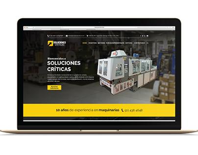 Website Soluciones Críticas