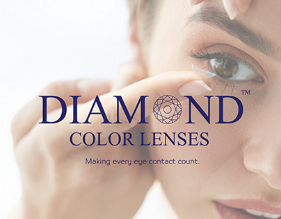Diamond color lenses