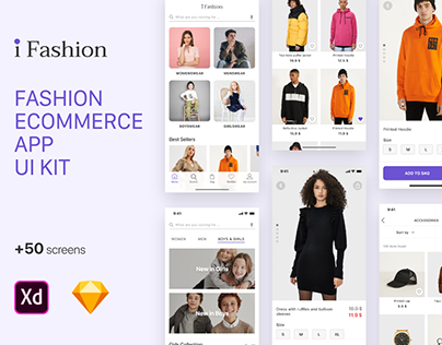 i Fashion - Ecommerce UI Kit
