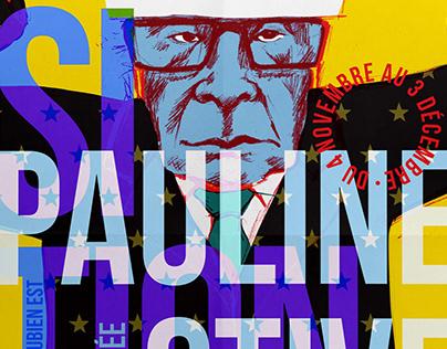 Pauline Stive Exhibition Poster